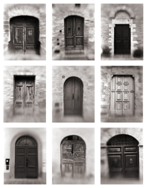Doors of Tuscany Shot with Lensbaby