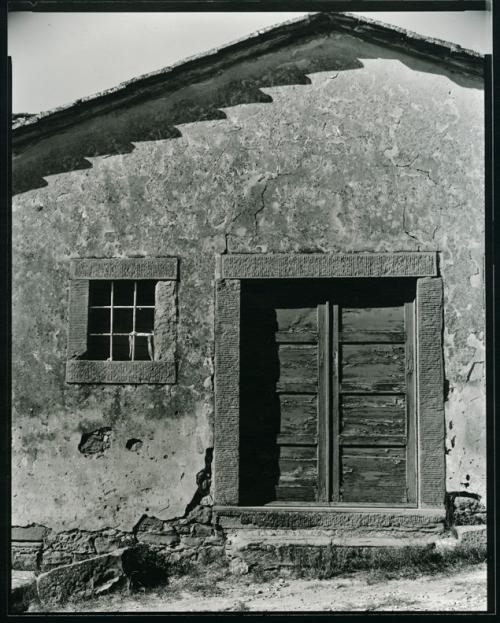 """Detail of rear of Church 8x10 Camera 14"""" Kodak Ektar Lens"""