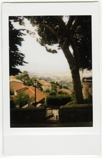 Cortona view of the Vale shot with Fujifilm Instax
