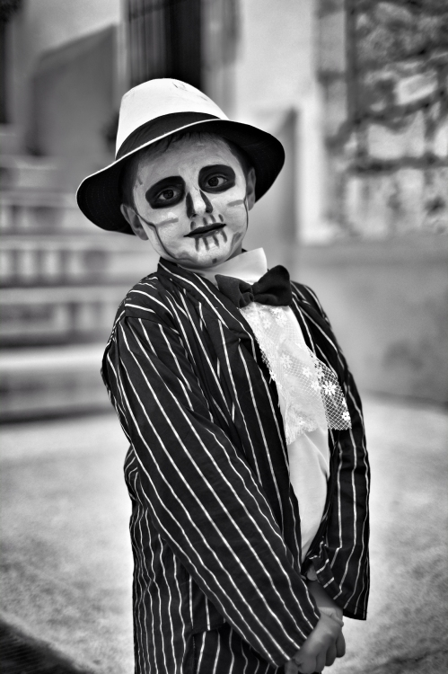 Day of the Dead Boy, Zacatecas Mexico