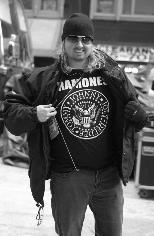It's New York after all, you have to one true fan of real NY in the mix. Long Live The Ramones!