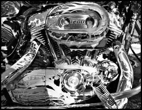 A clean 1200 V-Twin