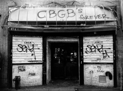 CBGB's Last Day