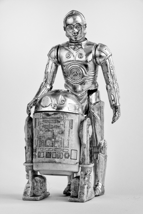 The Legendary C3P0 and R2D2. These two droids have been through a lot.