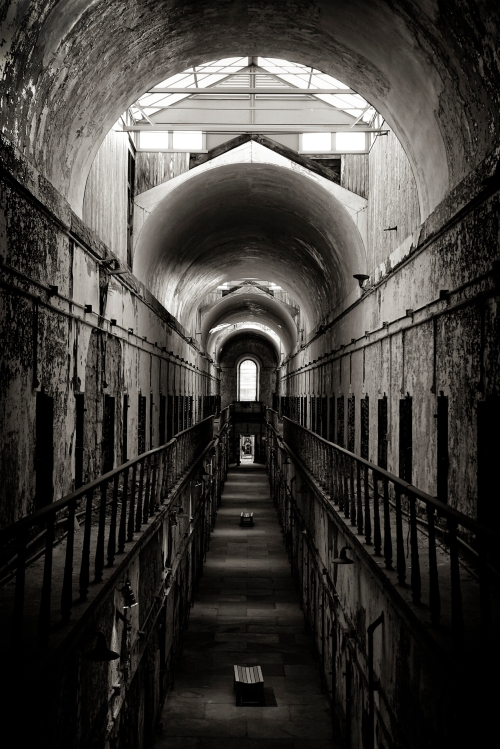 Eastern State Penitentiary Sony RX10 B&W Jpeg