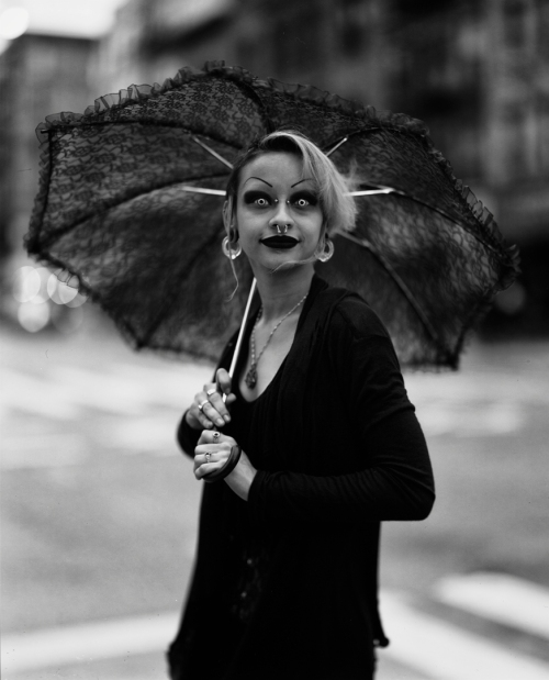 Portrait of Paradox, from 10 Hours Walking as a Goth in NYC viral video.